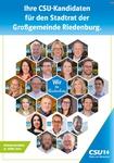 Kandidatenplakat CSU